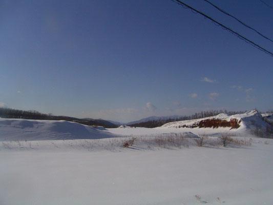 オホーツク北見の山並み
