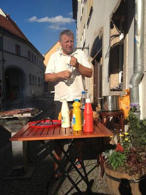 "Danke an ""Haribo"" & ""Zur alten Laterne"", Féte de la musique, Weimar, 21.06.2013,"