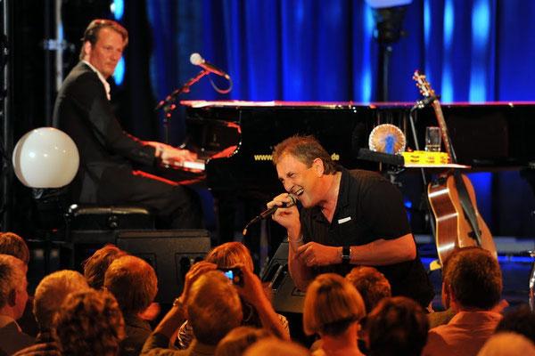 Stefan Gwildis-Konzert, Köstritzer Spiegelzelt Weimar, 13.06.2012, Foto: Stefan Kranz