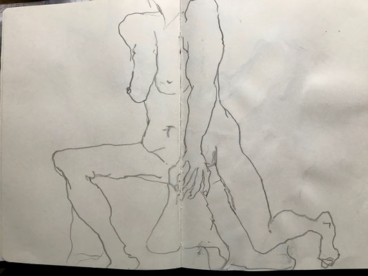 Skizzenbuch, Bleistift