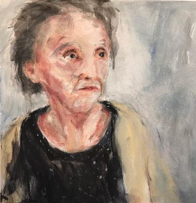 Frau 2,  50x50cm, Acryl