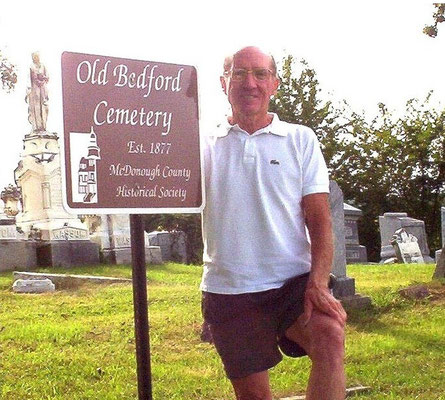 Gil Belles at Old Bedford Cemetery