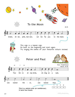 guitar-pieces-for-kids-with-two-notes