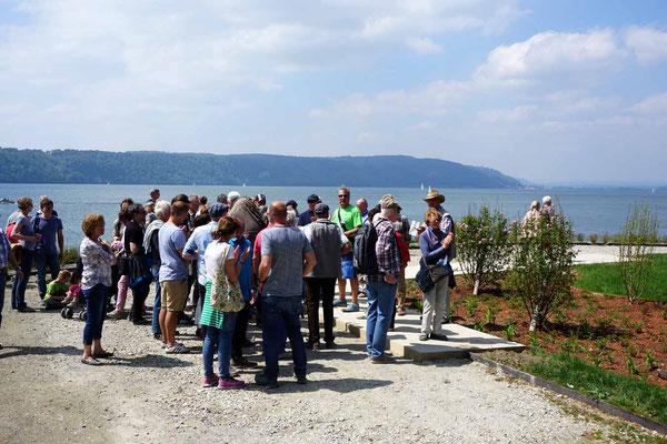 Führung Uferpark Frühlingsfest der LGS 2018