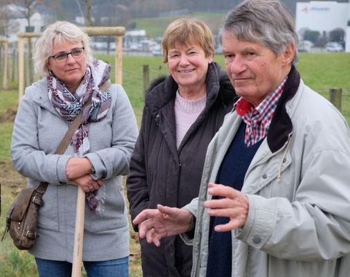 """Pflanzaktion """"Bäume verbinden"""" am 04.12.19 (c) Hans-Peter Walter"""