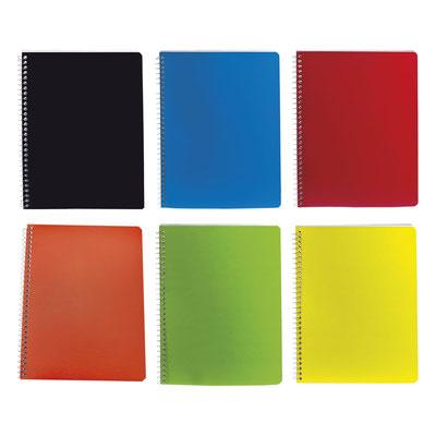 Código  HL  2900  Libreta - Cuaderno profesional tamaño carta. 70 Hojas de raya.  Material: Cartón / Espiral metálico  - Tamaño: 19.9  x  26.2 cm