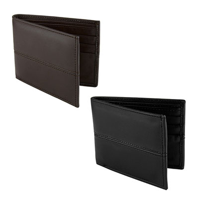 Código W 650 -CARTERA IMERETI- Organizador de tarjetas y credenciales. Compartimento doble para billetes. Material: Piel Corte Vacuno / Forro Textil. Tamaño: 10.2 x 8.5 cm.