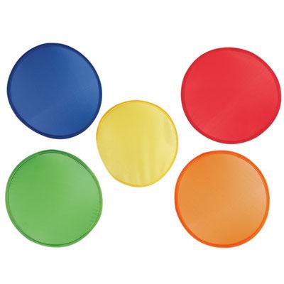 Código INF 080  FRISBEE PLEGABLE. Incluye funda. Material: Nylon.  Tamaño: 25 cm Diámetro.