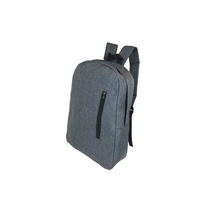 Código  SIN 196  (Bolsa principal y frontal.)  Material: Poliéster,  Tamaño: 28 x 39.5 x 10 cm
