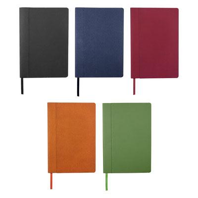 Código HL 180   LIBRETA DETTIFOSS (80 Hojas de raya. Incluye separador de hojas.)  Material: Curpiel.  Tamaño: 14.7 x 21.1 cm.