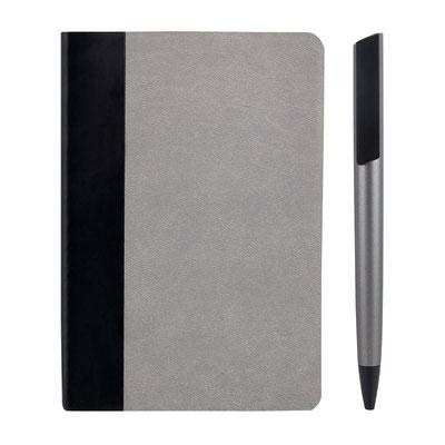 Código  HL 9042 MINI SET ZEMUN (80 Hojas de raya. Incluye separador de hojas, bolígrafo y caja de regalo.)   Material: Curpiel Libreta / Plástico Bolígrafo.  Tamaño:  10.2 x 14.9 cm Libreta / 1.2 x 14.5 cm Bol¡grafo