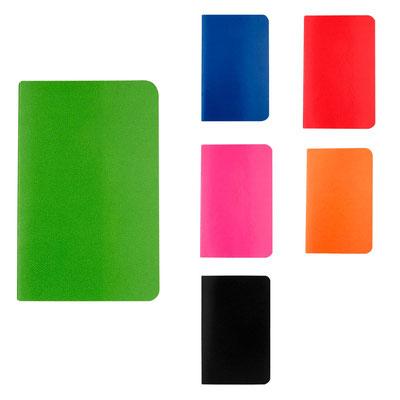 Código  HL 2013  Libreta ODIN -  30 Hojas de raya. Libreta con pasta flexible..   Material: Cartón Tamaño: 9 X 14 cm