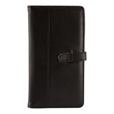Código M80780 -PORTA PASAPORTE- Compartimento para visa, pasaporte, boleto de avión y tarjeta de crédito.  Material: Curpiel.  Tamaño: 12.3 x 22.7 cm.
