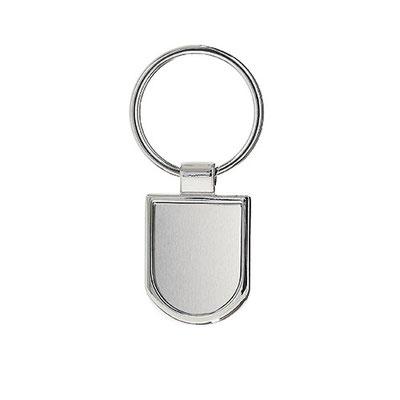 Código M 63280    Llavero. Incluye caja individual.       Material:  Metal    -  Tamaño: 2.7 x 7.1  cm