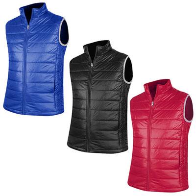 Código CHA 009 -CHALECO AVALON- Chaleco ligero con bolsas laterales. Exterior 100% nylon. Interior y relleno 100% poliéster.  Material: Poliéster / Nylon. Tamaño: N/A.