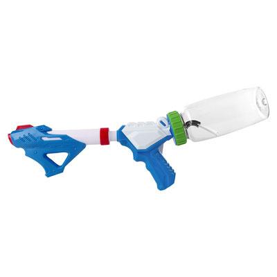 Código GM 029 B   PISTOLA DE AGUA AQUA SKY (Pistola de agua. Capacidad de cilindro 575 ml.)  Material: Plástico. Tamaño: 50 x 17 cm.