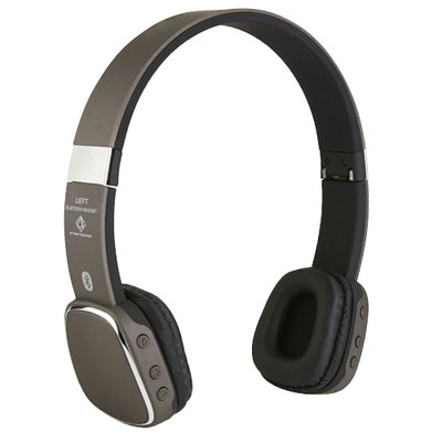 Código AUD 010 -Audífono- bluetooth plegables con audio de alta resolución. cable cargador USB y funda. Batería interna recargable. Función manos libres. Controles  de llamada, volumen y reproducción de audio. Material:Plástico/Aluminio. Tamaño:16.5x18cm.