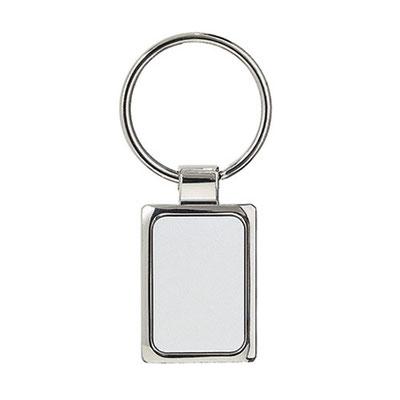 Código M 63282      Llavero. Incluye caja individual.       Material:  Metal    -  Tamaño: 2.6 x 7.2  cm