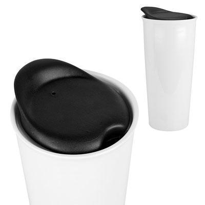 Código TAZ  048  Doble pared. No usar en microondas ni lavavajillas.   Material:   Cerámica   Tamaño:  6.5 x 18.5 cm