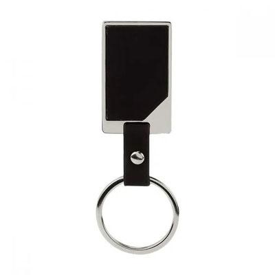 Código M 2085    Llavero GERSSOPA. Incluye caja individual.   Material:   Curpiel / Metal  -  Tamaño: 2.7 x 9.6 cm