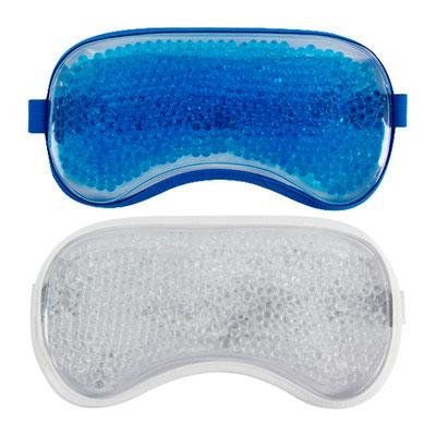 Código SLD 027 ANTIFAZ THERAPIE (Compresa antifaz con micro esferas de gel frio/caliente.) Material: Plástico. Tamaño: 21 x 10.5 cm.
