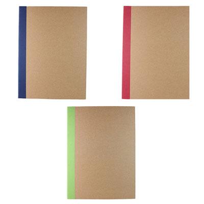 Código M 80230 A  .  CARPETA SKIN (Carpeta ecológica. Incluye block de raya tamaño A4 con 30 hojas, bolígrafo y notas adheribles.) Material:  Cartón / Papel reciclado. Tamaño: 23 x 31 cm.