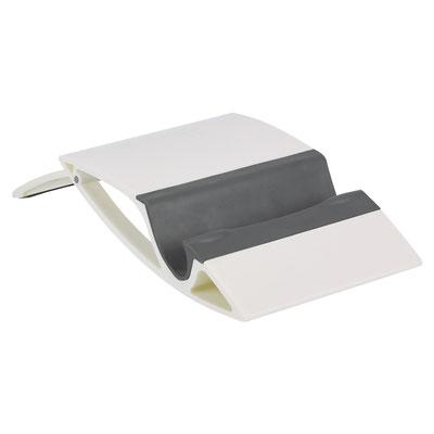 Código  CEL 038   SOPORTE GUELMIM (Soporte para smartphone y tablet.)  Material:  Plástico.   Medida:  10.5 x 8.1 cm