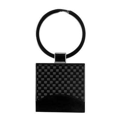 Código  M 63273  LLAVERO BRISBANE (Incluye caja individual.)  Material: Metal. -  Tamaño: 3.3 x 3.3 cm