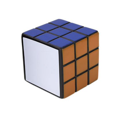 Código   SOC 029  CUBO MULTICOLOR ANTI-STRESS. 5 Caras de color y una cara blanca para impresión. Material: PU. Tamaño: 5.5 x 5.5 cm.