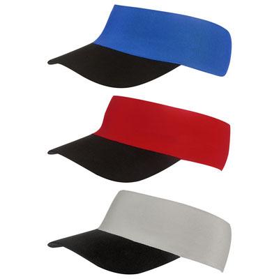 Código  CAP 012  VISERA BAYUDA (Visera elástica, cuenta con espacio para cabello.)  MATERIAL:  Poliéster.