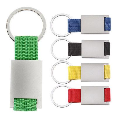 Código M 5813   Llavero. Incluye caja individual       Material: Tela / Metal    -  Tamaño: 2.8 x 8  cm