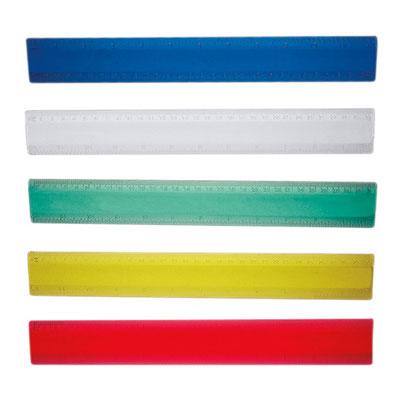 Código DPO 007 REGLA TRANSLúCIDA. Regla de 30 cm. Material: Plástico.  Tamaño: 31 x 4 cm.
