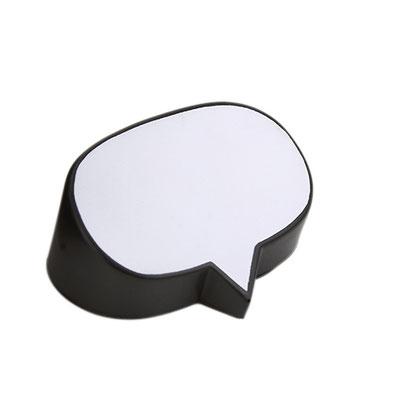 Código  SOC 028 Anti-stress en forma de globo de idea. Material: PU. Tamaño: 8.3 x 6.5 cm.