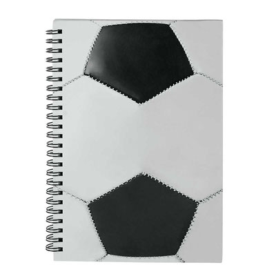 Código  SOC 940  LIBRETA SOCCER NOTES (80 Hojas de raya. Incluye espiral metálico doble.)    Material: Cartón / Espiral Metálico - Tamaño: 21.6 x 14.5 cm