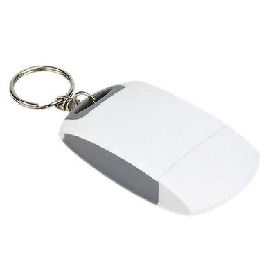 Código CEL 013 -LIMPIA PANTALLAS MIKEL- Llavero con franela para limpiar pantallas.   Material: Plástico. Tamaño: 3.8 x 7.2 cm.
