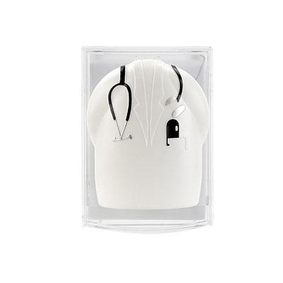 Código SLD 010-DESPACHADOR DE NOTAS DOCTOR- Incluye 40 hojas de notas.  Material: Plástico Tamaño: 8 x 11.7 cm.