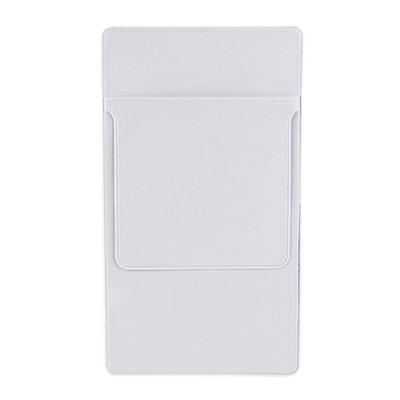 Código SLD 011 -FUNDA PROTECTORA CASSIA- Funda protectora para bolígrafos y tarjetas. Bolígrafos no incluidos.  Material: Plástico Tamaño: 8 x 14.5 cm.