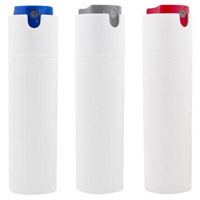 Código SLD 018 - ANTIBACTERIAL ZANTE- Incluye líquido antibacterial con atomizador. Aroma cítrico.  Material: Plástico. Tamaño: 2.8 x 10.5 cm.