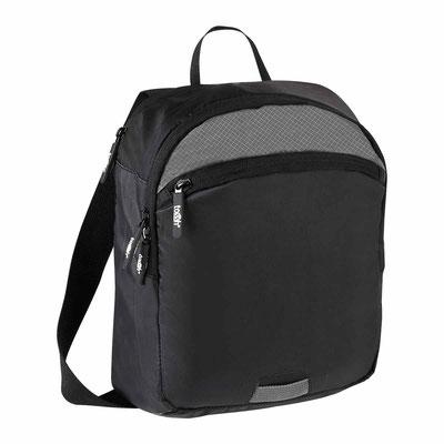 Código SIN 730  MOCHILA MAKALU (Bolsa principal con un compartimento. Bolsa frontal. Bolsa trasera para tablet. Incluye correa.)  Material: Poliéster.  Tamaño: 24 x 29 cm.