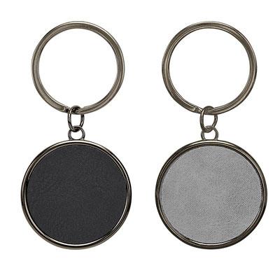 Código M 63275  LLAVERO ROMA  (Incluye caja individual.)   Material:  PU / Metal   -  Tamaño:   4 x 8 cm