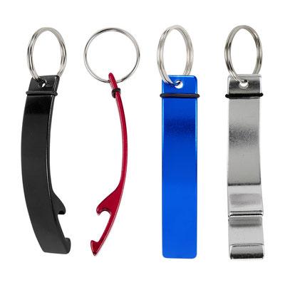 Código  DPO 024 R  LLAVERO TIATU (Llavero destapador.)  Material: Aluminio. -  Tamaño: 1.4 x 9.5 cm.