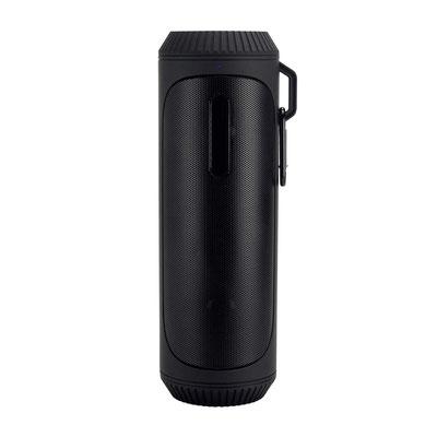 Código 1150  BOCINA JERTE (Bocina bluetooth con batería recargable de 6 horas de reproducción. Controles integrados de llamada, volumen y reproducción de audio. Cable cargador USB incluido. )   Material: Plástico.   Tamaño:  6.9 x 21 cm