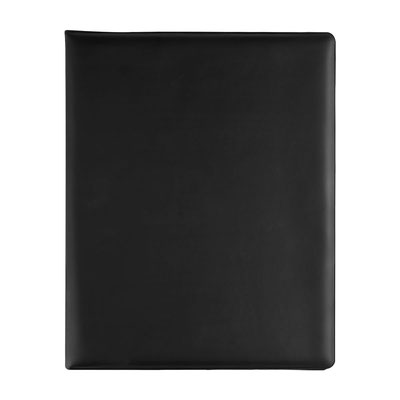 Código M 80170  CARPETA YAMDENA (Incluye block de raya tamaño A4 con 20 hojas, espacio para bolígrafo y compartimento para documentos. No incluye bolígrafo.)  Material:  Curpiel / Vinil. Tamaño:  24.3 x 35 cm