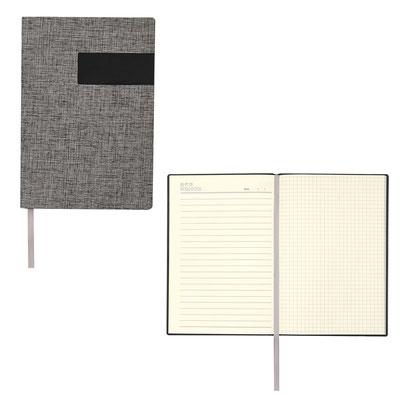 Código  HL 1755  Libreta RELAWAY -  40 Hojas de raya, 30 hojas de cuadro chico y 10 hojas para notas. Incluye separador de hojas.  Material: Curpiel / Espiral metálico- Tamaño:   15 x 21.3 cm