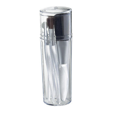 SET  DE  BROCHAS  CRYSTAL  CODIGO  DAM  570 incluye 5 accesorios. Material: Plástico.  Tamaño: 3.2 x 10.6 cm.