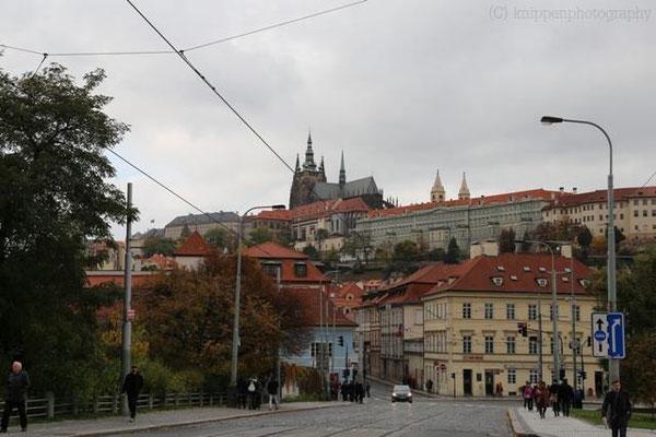 Die Prager Burg/ Tschechische Republik.