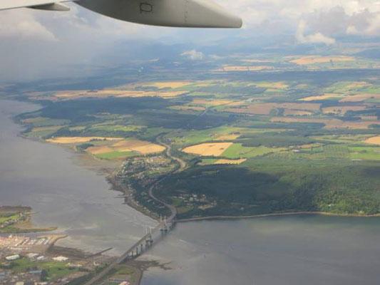 Schottland von oben.