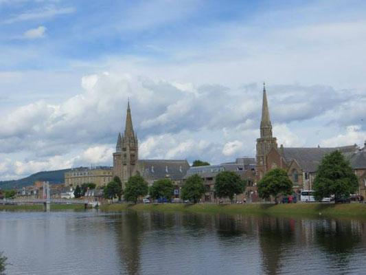 Inverness, die Hauptstadt der Highlands/ Schottland.