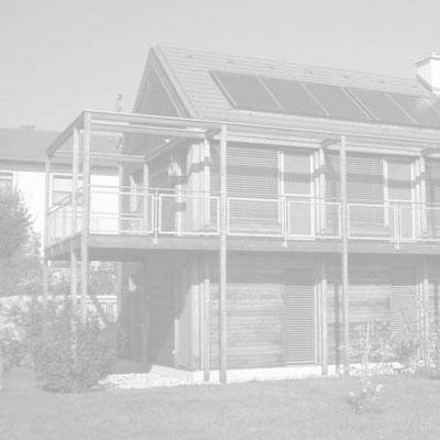Niedrigenergie Holzhaus Jois