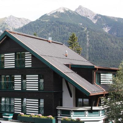 Sanierung Holz Zubau Hotel